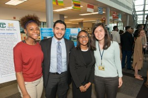 Detroit Health Commissioner Dr. Abdul El-Sayed joins Cass Tech and U-M Medical School students at Doctors of Tomorrow celebration.