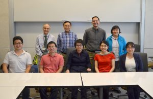 Five students (front row) are the first to complete a new program which brings medical students from China to learn research at the University of Michigan.