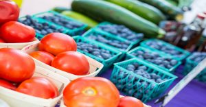 Visit the M Farmers Market every Thursday from 11 a.m. – 1 p.m. on the UH Courtyard.