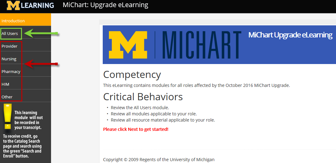 MiChart Upgrade eLearning Page.fw