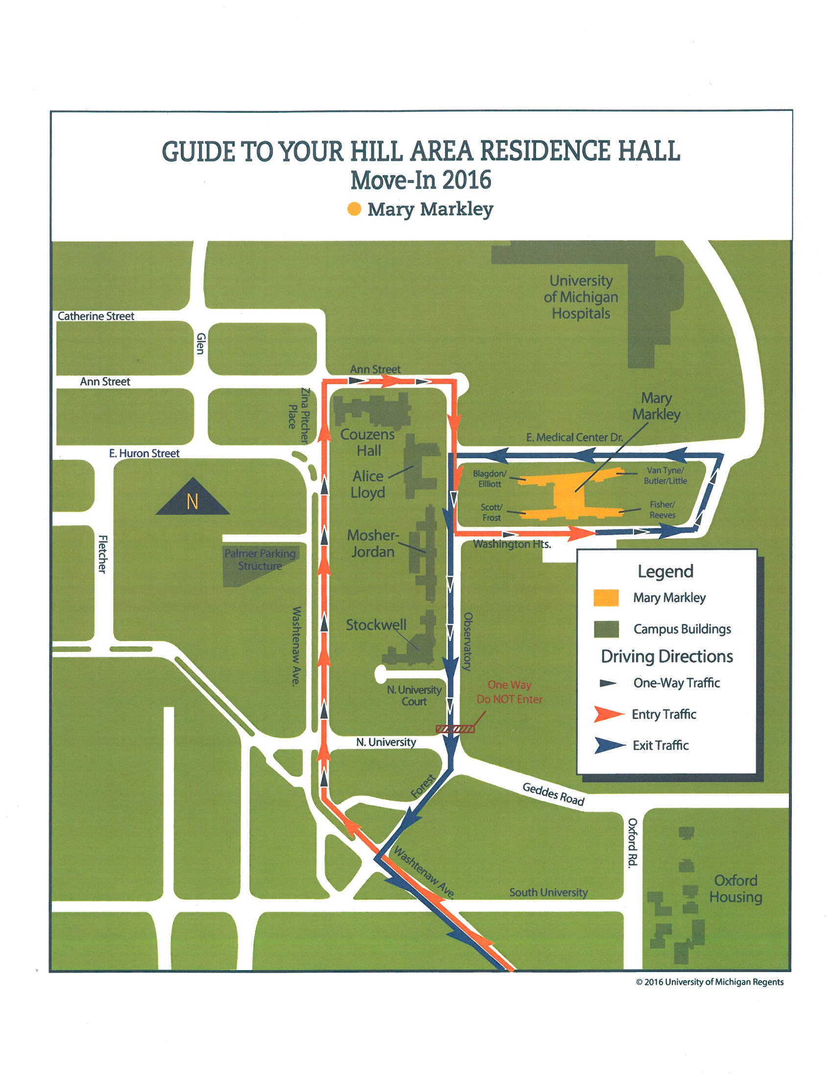 Move-in map