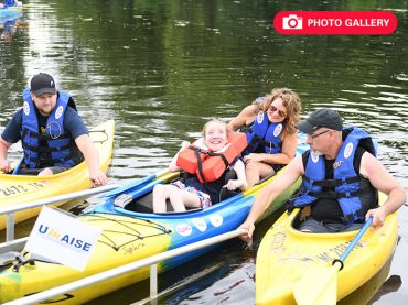 A boatload of fun: Adaptive kayaking helps patients enjoy the great outdoors