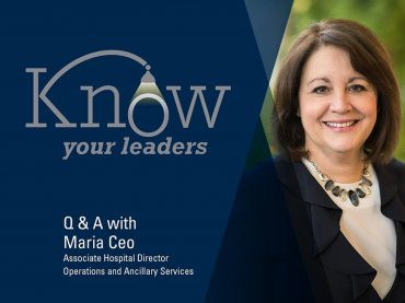 Michigan Medicine's smooth operator: Q&A with Maria Ceo