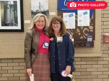 Double feature: Veteran quiltmaker makes history at Employee Art Exhibition