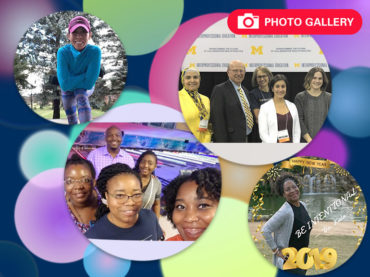New goals in the new year: Employees show off their resolutions for 2019