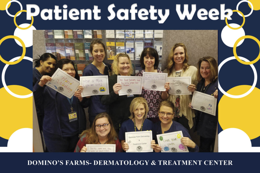 Safe at home: Faculty, staff celebrate National Patient
