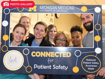 Safe at home: Faculty, staff celebrate National Patient Safety Awareness Week