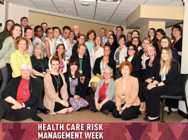 Managing risk: Dedicated team addresses concerns regarding care