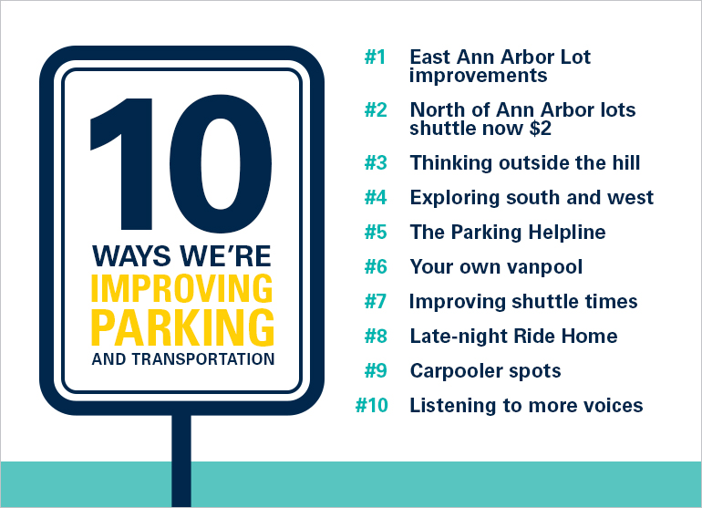 Organization shares efforts to improve parking and