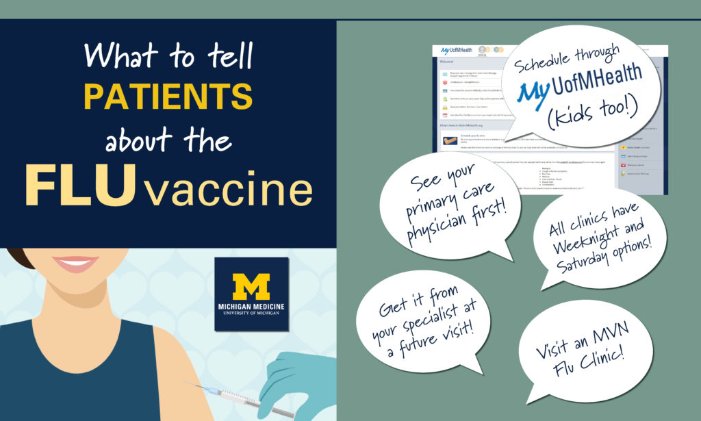 What to tell your patients about flu vaccinations – Michigan