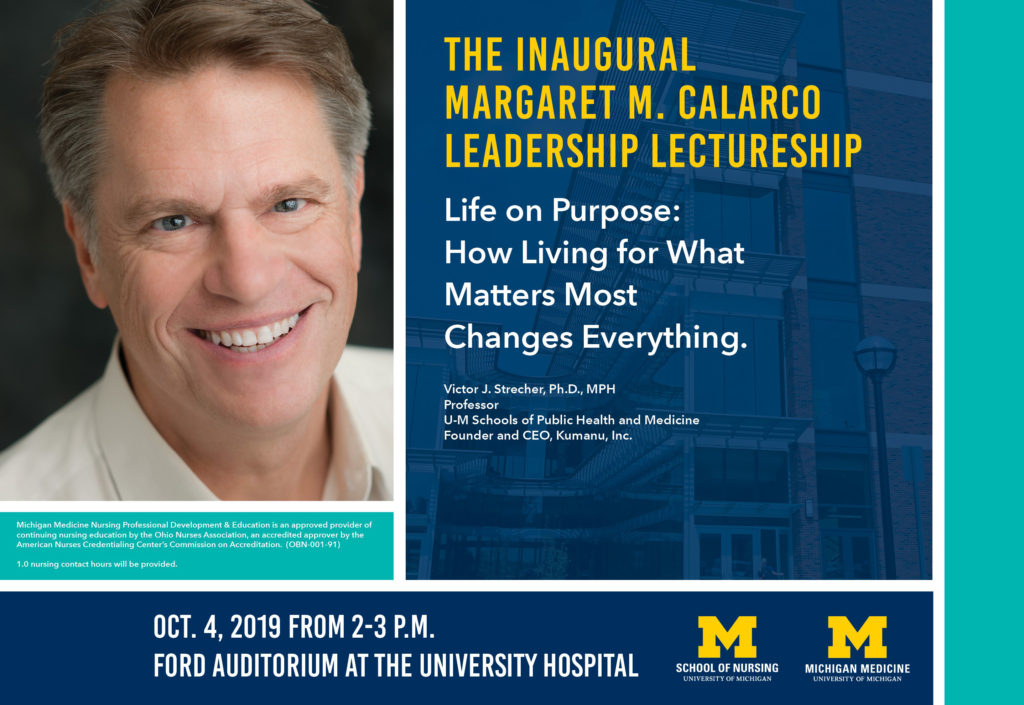 You're invited: Inaugural Margaret M  Calarco Leadership
