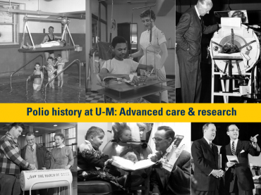 Looking back on another virus battle: U-M's role in polio history