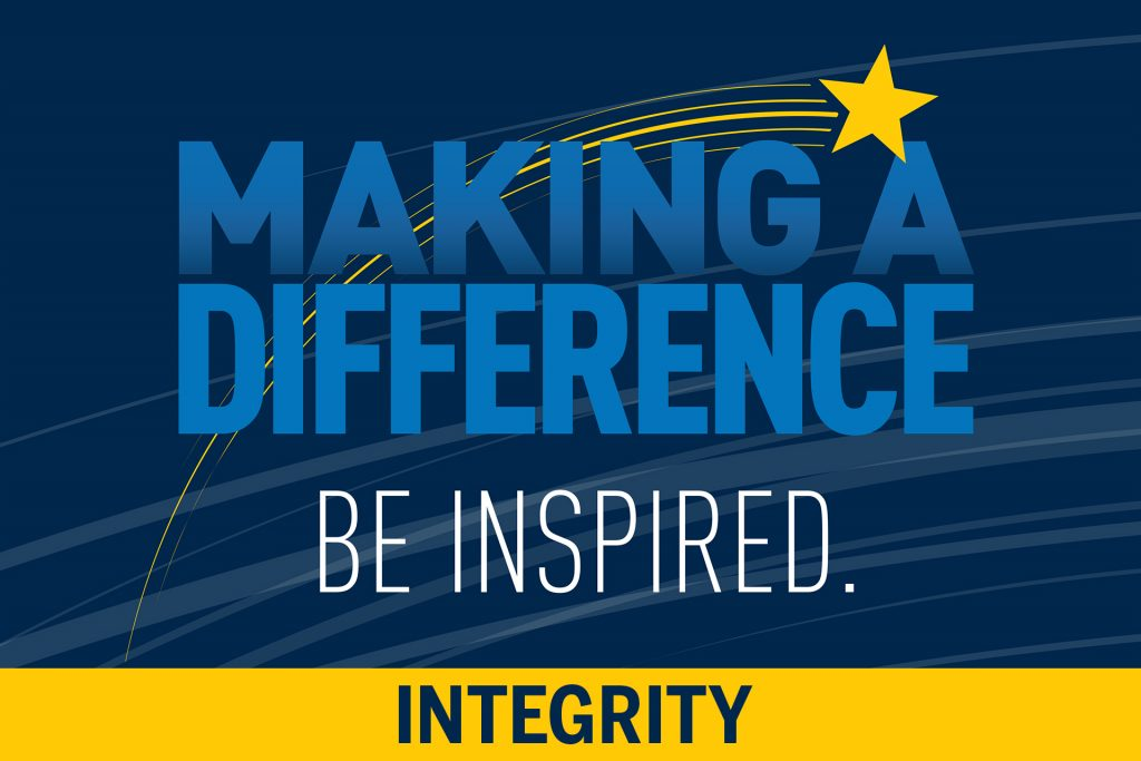 Making a Difference: Integrity