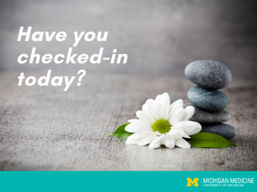 Wellness Wednesday: With changing times, wellness check-ins are needed