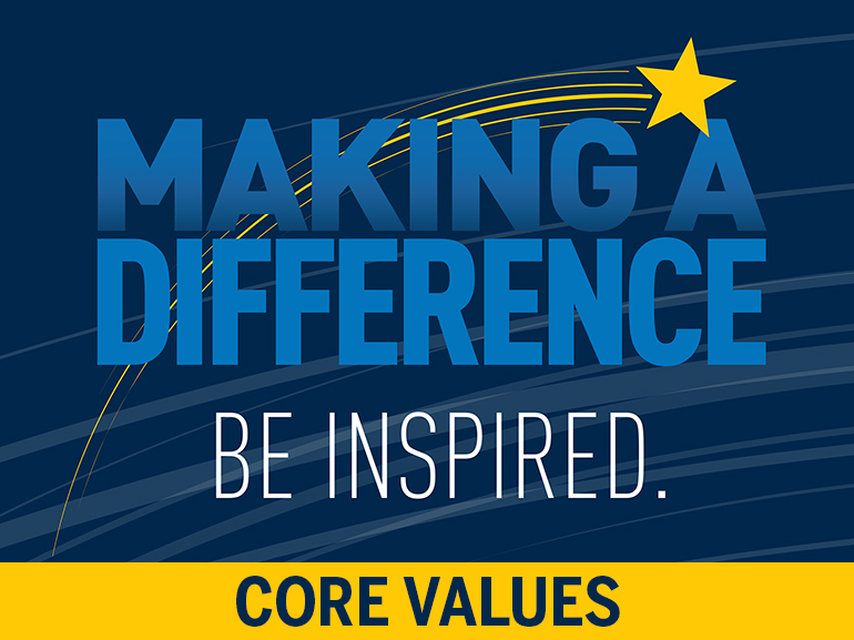 Making a Difference. Be Inspired.