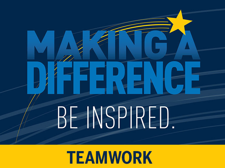 Making a Difference: Teamwork.